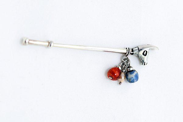 llama stick pin