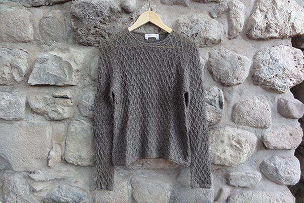 gray pullover