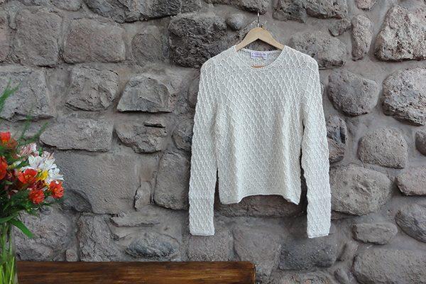 handmade pullover sweater